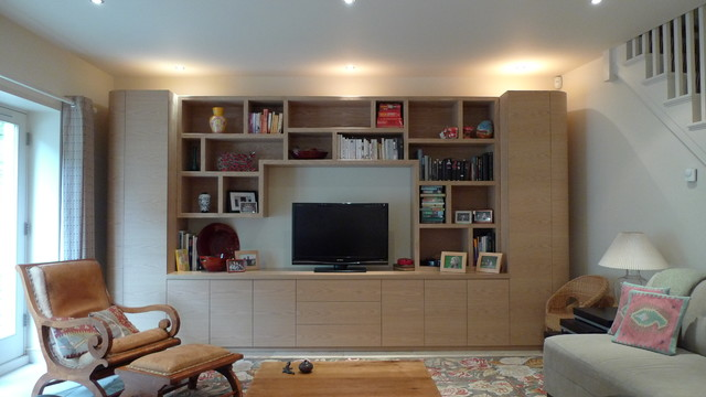 Belsize Lane contemporary-family-room