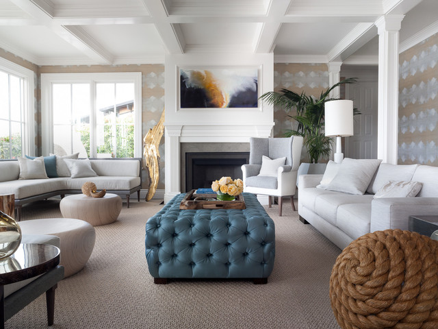 Belvedere contemporary living room