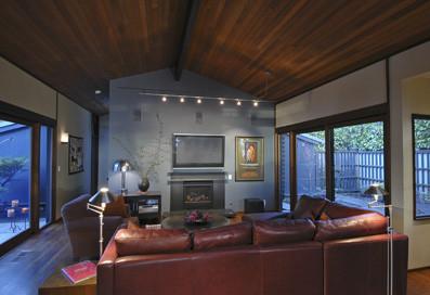 Ben Trogdon Architects modern-living-room