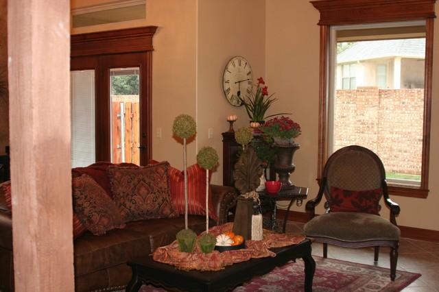 Bergamo Villas traditional-living-room