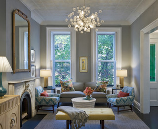 Bergen Street Residence transitional-living-room
