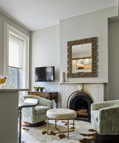 Bergen Street Residence contemporary living room