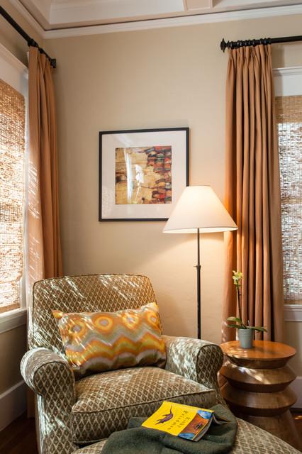 Berkeley Brown Shingle traditional-living-room