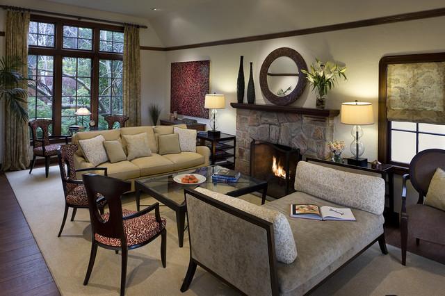Berkeley Catraditional Living Room San Francisco And Interior Design Studio