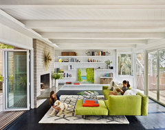 Berkeley Hills House modern living room