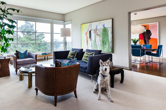 Berkeley Hills residence - Cheryl Burke Interior Design