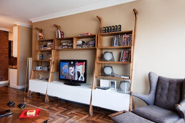 berker house // by escapefromsofa contemporary-living-room