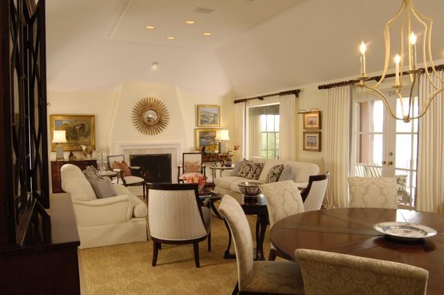 Bermuda House traditional-living-room