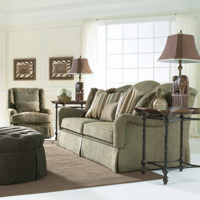 Bernhardt harrison sofa for Bernhardt living room furniture
