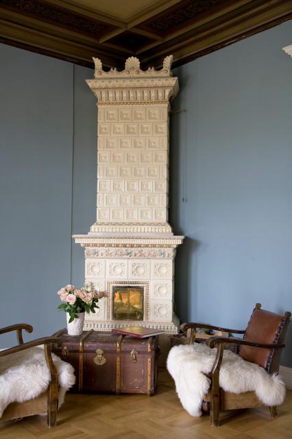 Bestumveien traditional-living-room