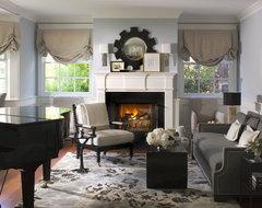 Betsy Burnham beach-style-living-room