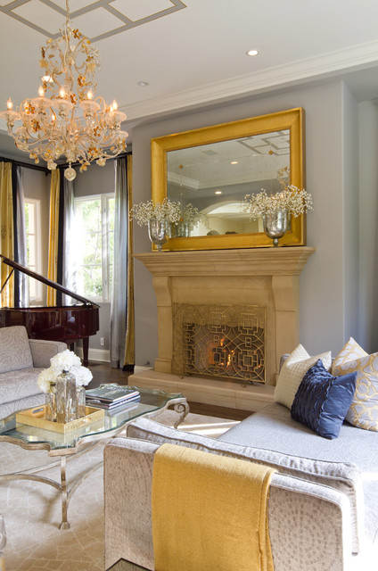 Beverly Hills Estate traditional-living-room