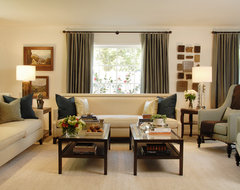 Beverly Hills Family Dwelling traditional-living-room