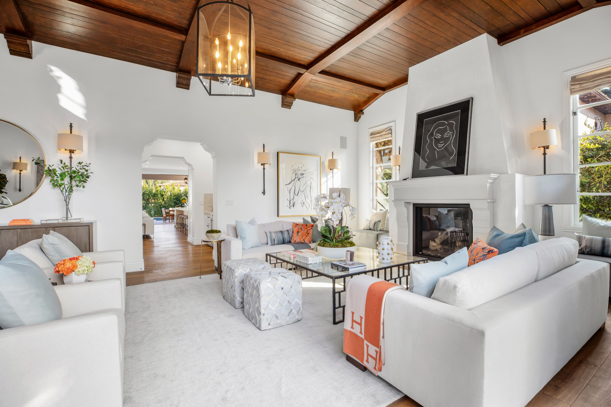 75 Beautiful Mediterranean Living Room Pictures Ideas February 2021 Houzz