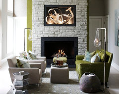 Beyond Mid-Century by Heather Garrett Design contemporary-living-room