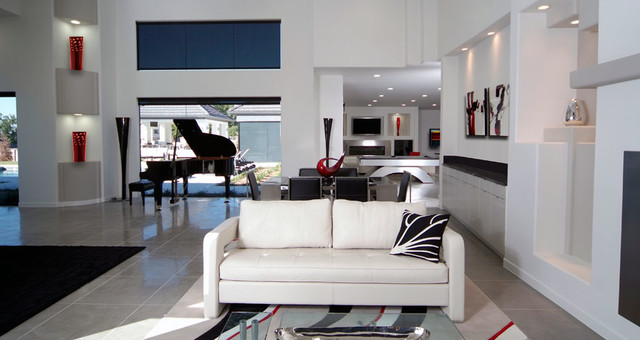 Bickerstaff Project contemporary-living-room
