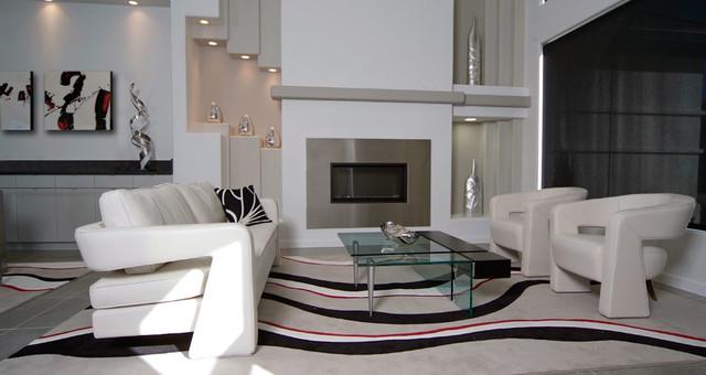 Bickerstaff Project Contemporary Living Room Dallas