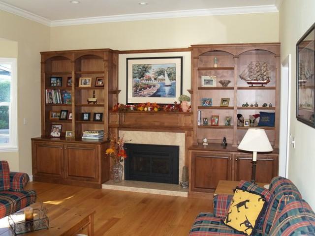 Big Blank Walls traditional-living-room