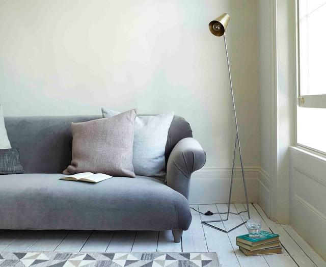 Big Gee Floor Lamp Industrial Living Room London By Loaf