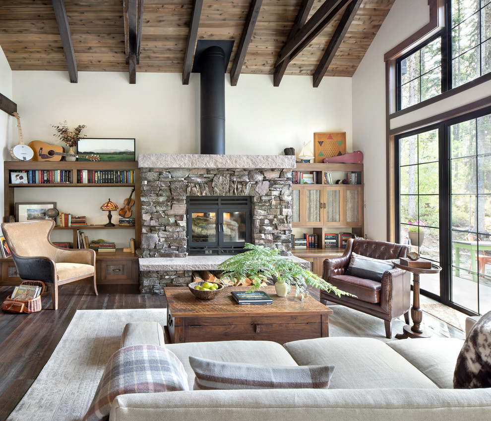 Big Mountain - Rustic - Living Room - Other - by Denman ...
