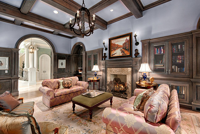 Biltmore Forest traditional-family-room