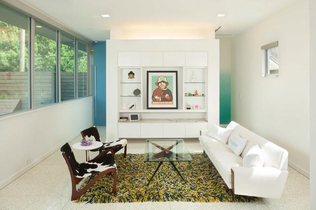 Binary House modern-living-room