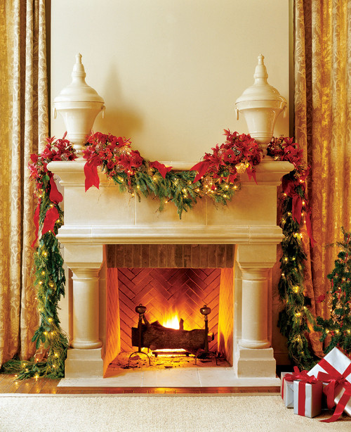 Birmingham Cast Stone Fireplace Mantel