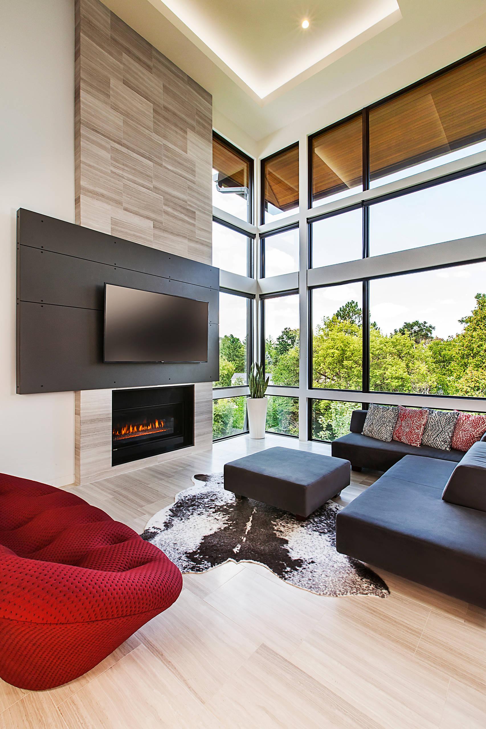 Cowhide Living Room Ideas Photos Houzz