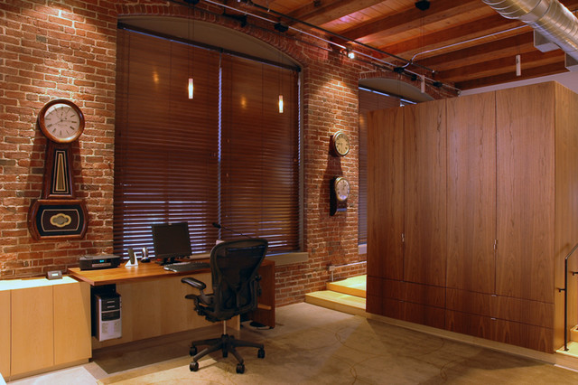 Residential Loft 2003 contemporary home office