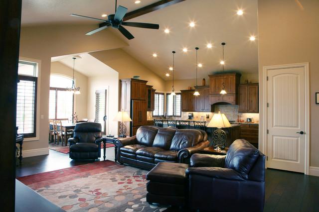 Bishop Residence traditional-living-room