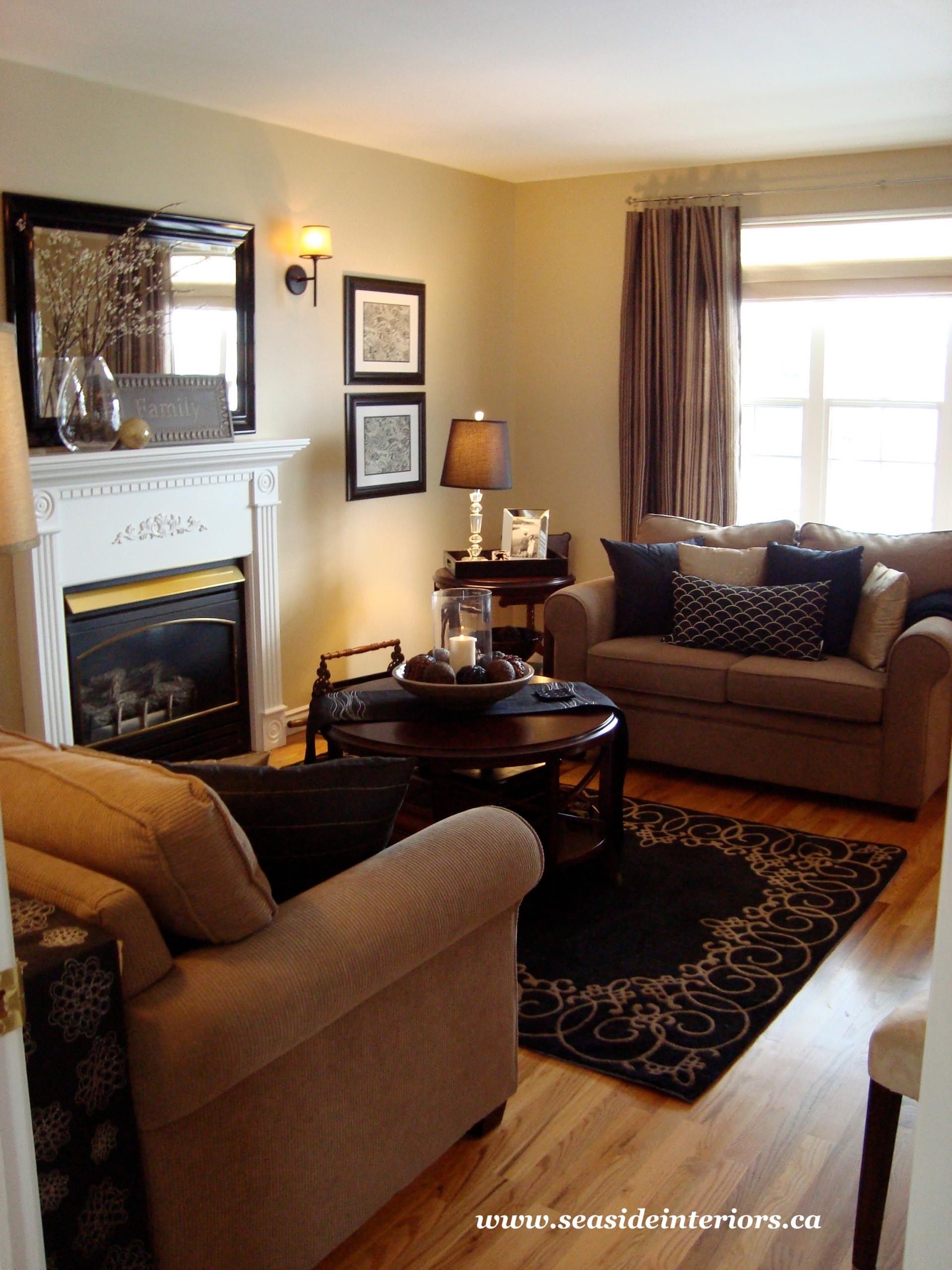 Black Beige Living Room Houzz