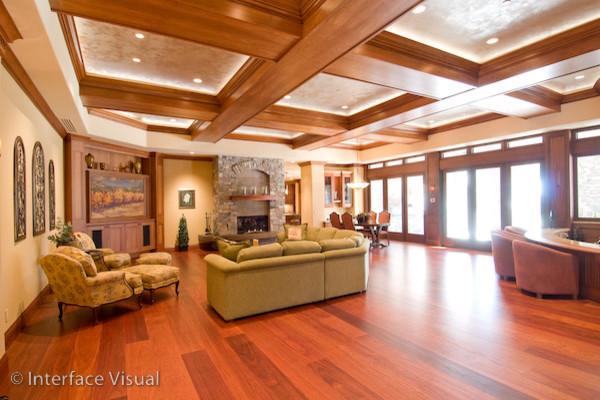 Black Ridge Vineyards traditional-living-room