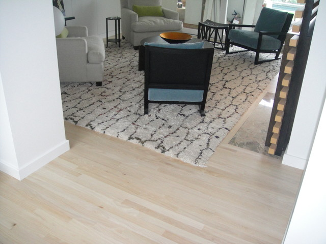 Bleached Red Oak Flooring