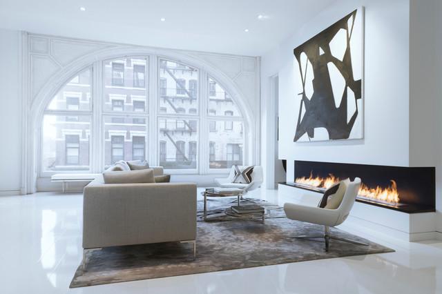 Bleecker Street Loft scandinavian-living-room