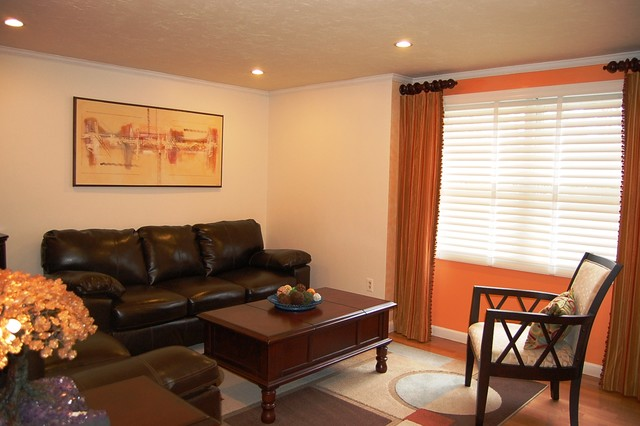 Blinds & Shades traditional-living-room