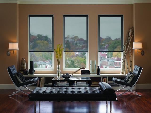 Gentil Living Room   Contemporary Living Room Idea In Houston