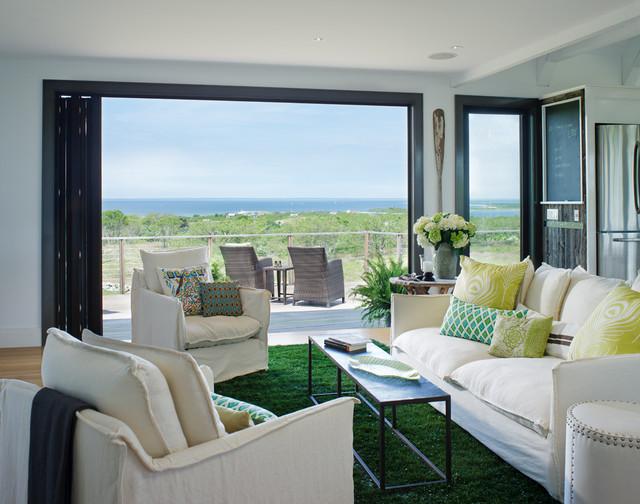 Block Island Residence contemporary-living-room