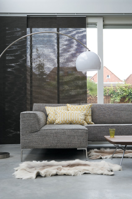 bloq sofa modern living room seattle by design on