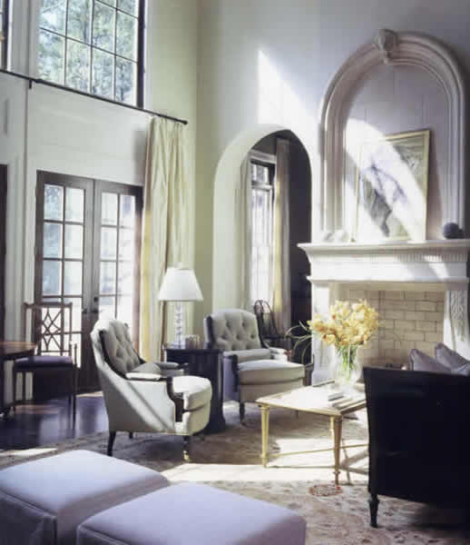 Blount Design Traditional Living Room