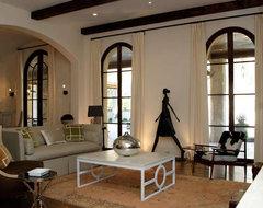 Blount Design contemporary-living-room