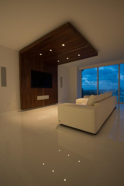 Blue Diamond modern-living-room