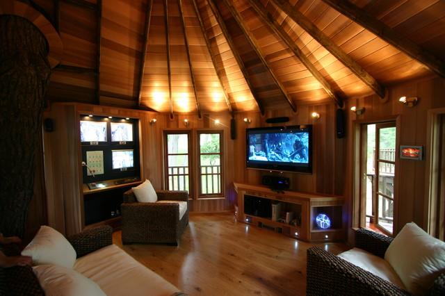 tree house inside houzz tour james bond tree house in greece