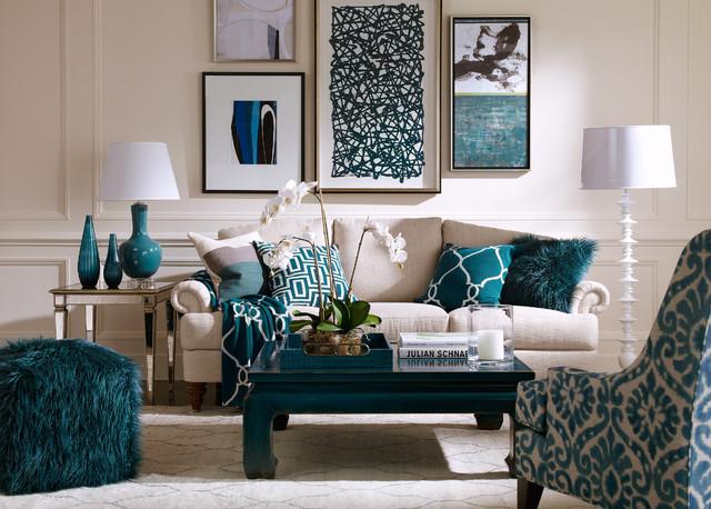 Blue Lagoon Living Room