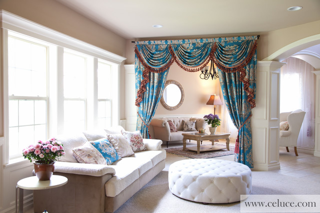 valance for living room blue lantern swag valance curtain set traditional 13629