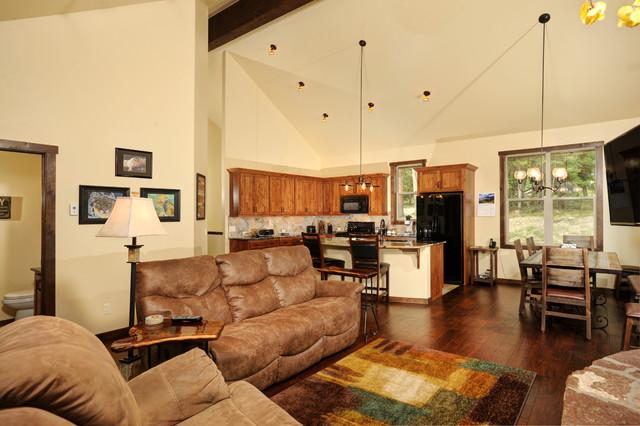 Blue River Rustic Living Room Denver By Rockridge