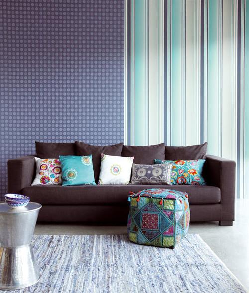 Blue Wallpaper by Eijffinger