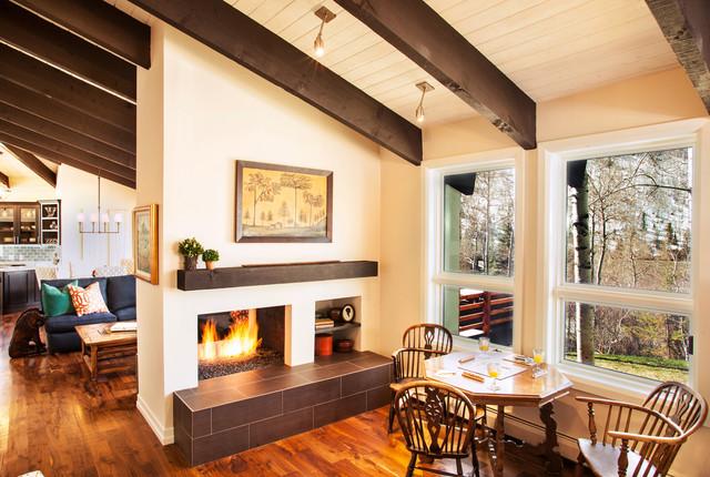 Bmr Vail Colorado Contemporary Living Room Denver By Balance Point Construction