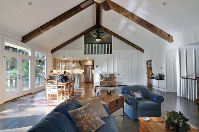 Board & Batten - Traditional - Living Room - atlanta - by Renew Properties