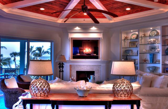 Boca Grande FL Transitional Living Room Other By