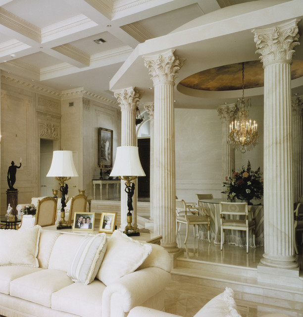 Boca Raton Dining Room Mediterranean Living Room Other Metro By Chads